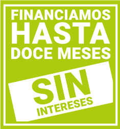 Financiamos hasta doce meses sin intereses